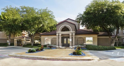 Community entry and leasing office