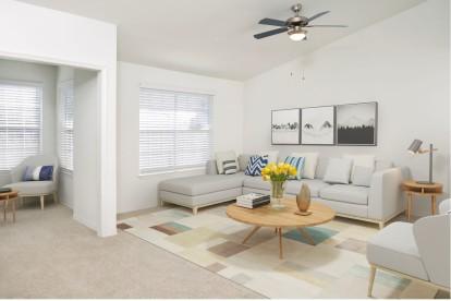 Living Room with Solarium Camden Bay