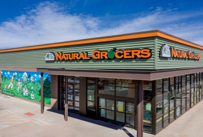 A nearby local grocery store called Natural Grocers