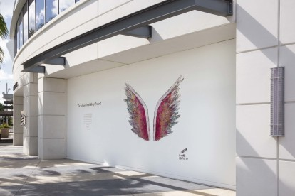 The global angel wings project in lake nona