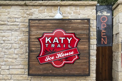 Katy trail icehouse near community