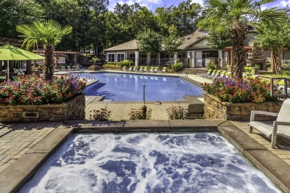 Pool and spa hot tub