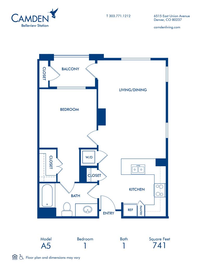 Studio 1 Bedroom Apartments In Denver Co Camden Rino