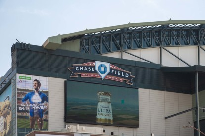 Chase field in the neighborhood