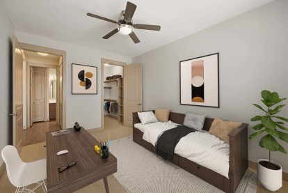 Bedroom or flex space for home office