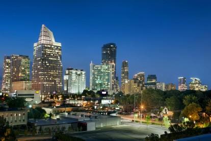 City views at night