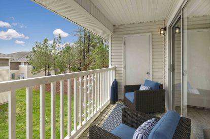 Balcony outdoor living apex nc