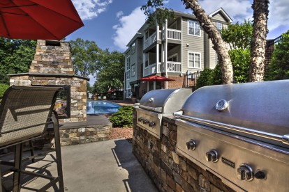 Outdoor grills dining and fire