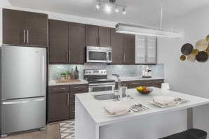 Kitchen at Camden Gallery Apartments in Charlotte, NC