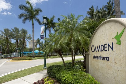 Located in the heart of aventura community entrance
