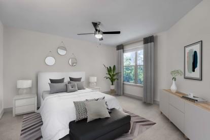 Large bedroom natural light