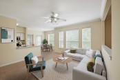 With spacious living room and open floor plans