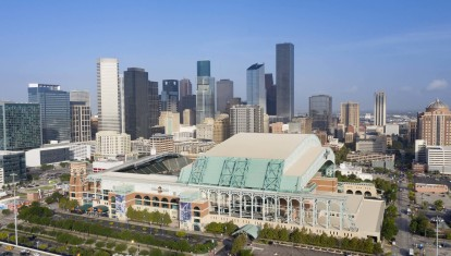 Minute maid stadium and downtown