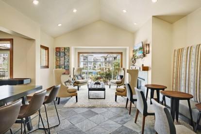 Resident lounge seating