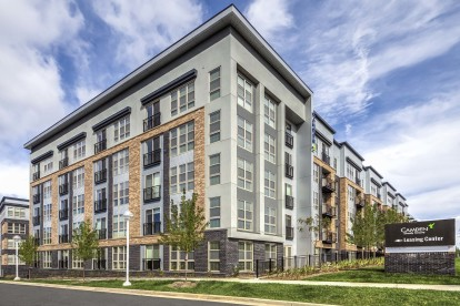 Apartments exterior building