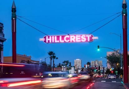 Hillcrest City Sign