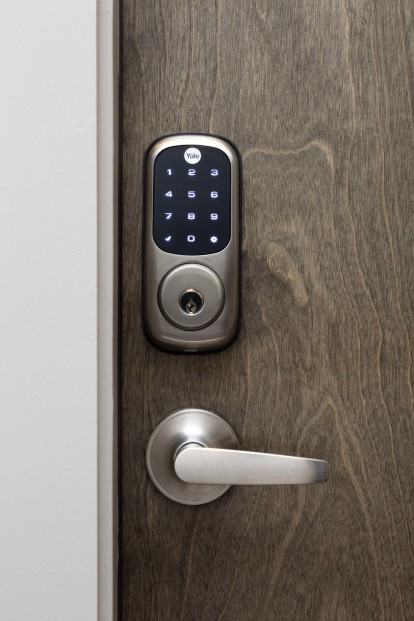 Chirp, convenient and keyless smart lock entry