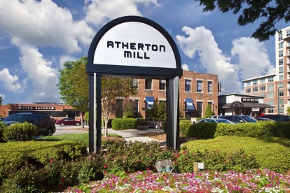 Nearby shopping and dining at atherton mill