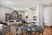 Mcpherson square metro historic open concept kitchen living dining stainless appliances