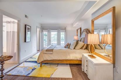 Bedroom private balcony 1