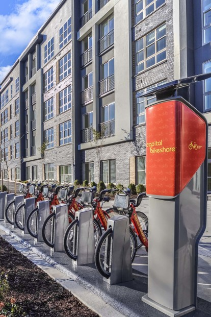 Apartments capital bikeshare rental bikes