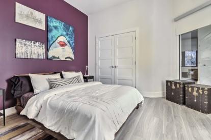 Ice white design scope bedroom