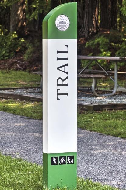 Adjacent to apex trail