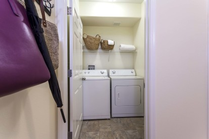 Full size side by side washer and dryer