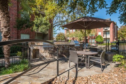 Outdoor grills and picnic area