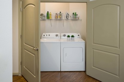 Full size side by side washer dryer