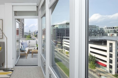 Apartments with Incredible Views of Nationals Stadium and The U.S. Capitol Building
