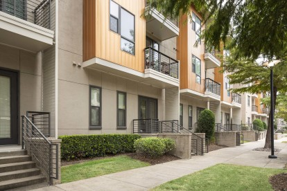 Direct entry apartment homes