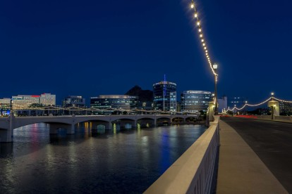 Tempe town lake nearby