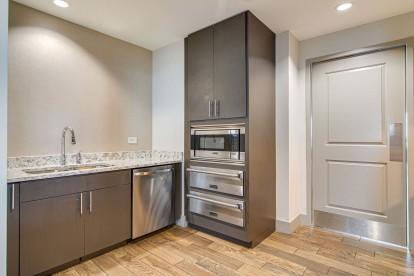 Resident clubroom entertaining kitchen