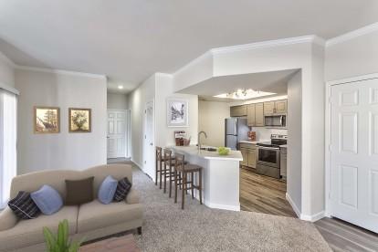 Living kitchen open concept