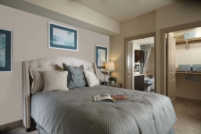 Bedroom with ensuite and large walk in closet