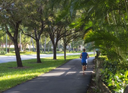 With many trail and exercise locations near the community