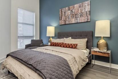 Bedroom beautifully airy