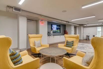 Jam Room lounge area seating