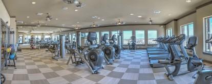 High endurance fitness center