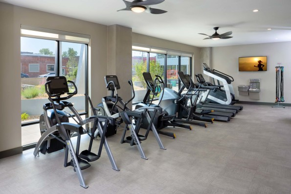 24-Hour Fitness Center with Cardio Equipment