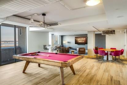Resident lounge billiard