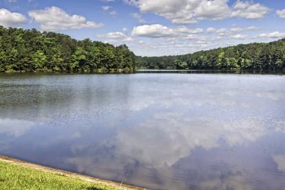 Adjacent to apex community park 60 acre lake fishing