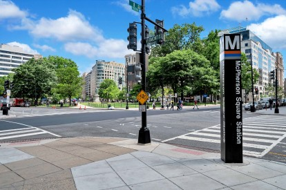 McPherson Square and Metro Station