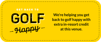 Golf Happy Badge