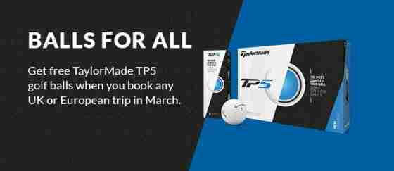 Free Taylormade TP5 balls