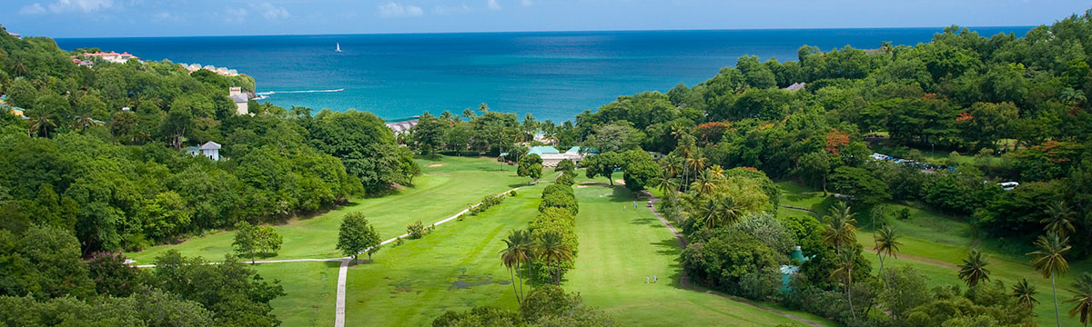Unlimited golf in the Caribbean