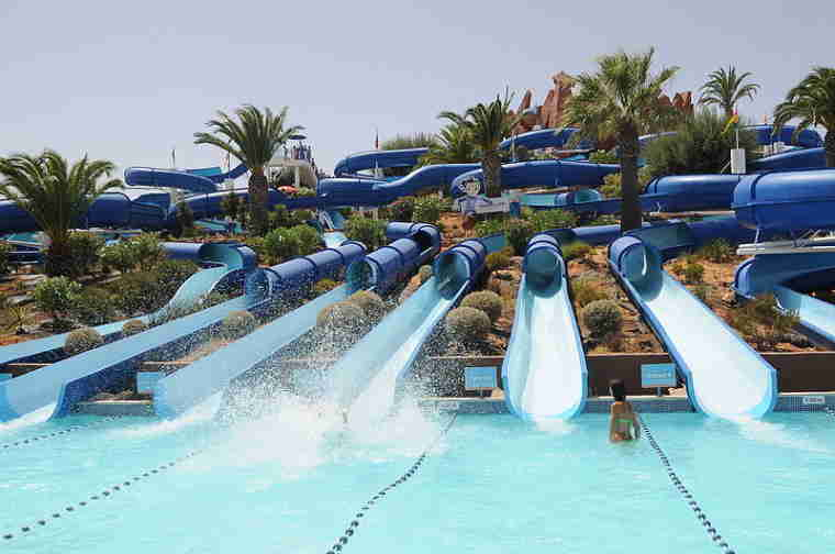 Slide & Splash, Algarve