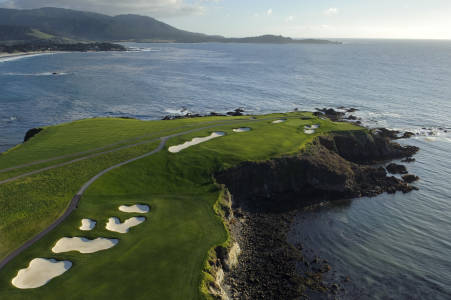 Golf in California, USA
