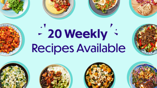 20 Weekly Recipes Available